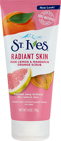 Radiant Skin Pink Lemon & Mandarin Orange Face Scrub
