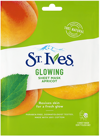 Glowing Apricot Sheet Mask