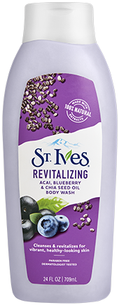 Revitalizing Açai, Blueberry & Chia Seed Oil Body Wash
