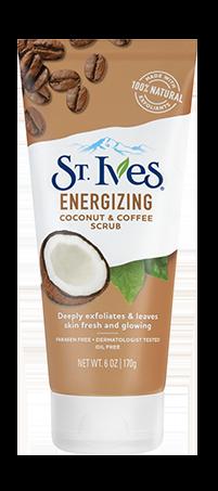 Energizing Coconut Coffee Face Scrub